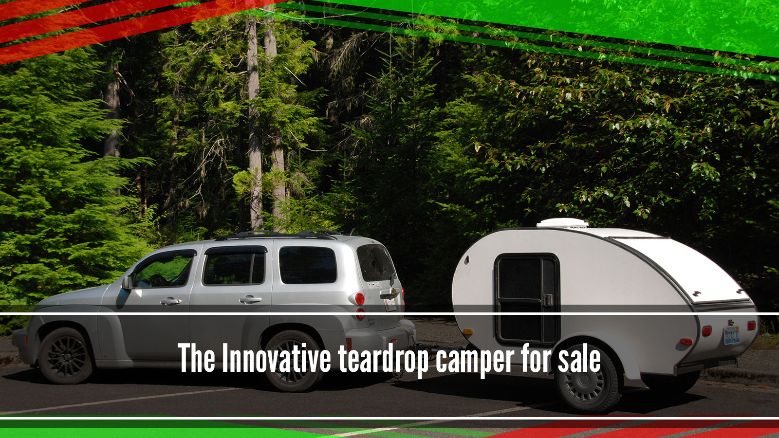 Teardrop camper for sale